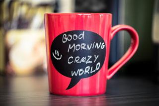 Mooie-koffiemok