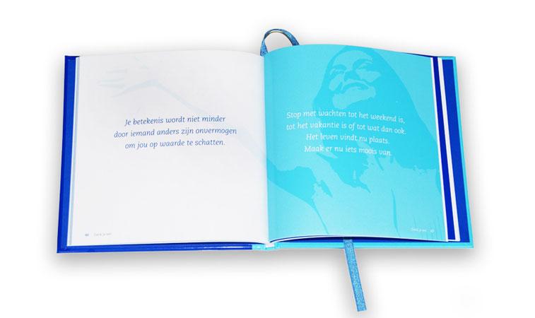 kleine boekjes met spreuken Dankjewel boekje   Voor Positiviteit kleine boekjes met spreuken
