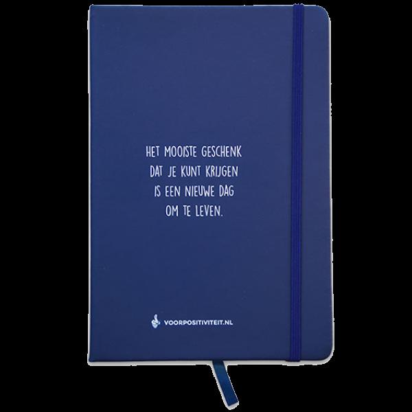 Notitieboek blauw