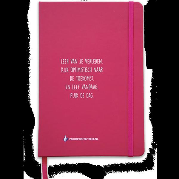 Notitieboek roze