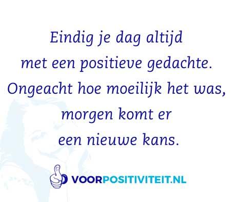 positieve gedachten