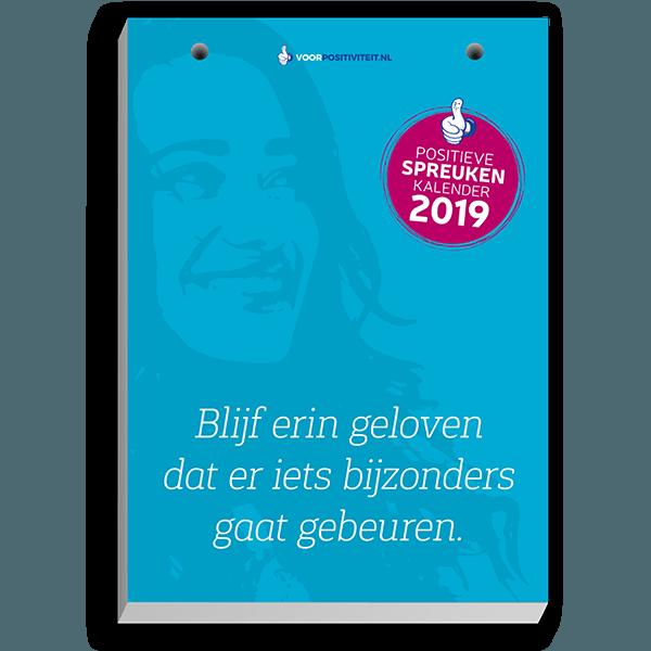positieve spreuken scheurkalender Scheurkalender 2019   met de mooiste, originele, positieve spreuken positieve spreuken scheurkalender