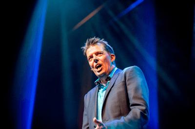 Spreker Mark Verhees