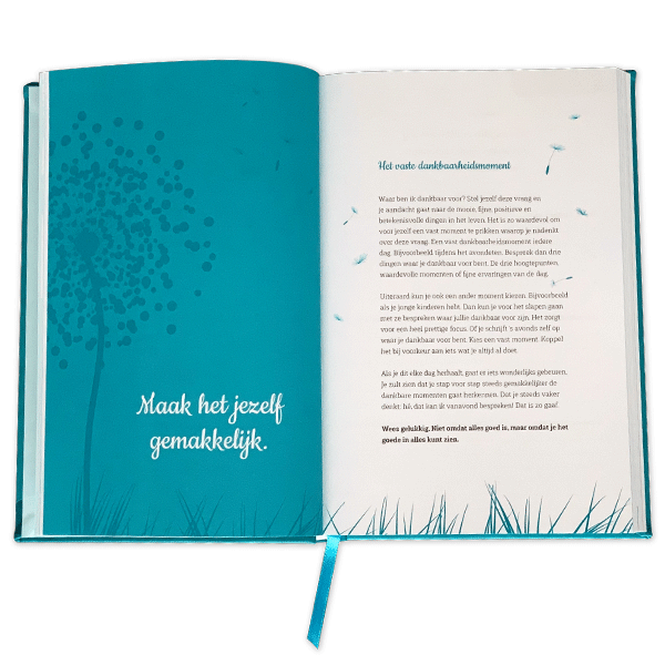 Dankbaarheid dagboek gemakkelijk