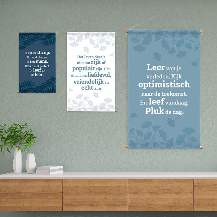 Wanddoeken 3 formaten