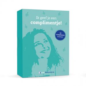 Doosje met complimentkaartjes