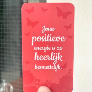 Jouw positieve energie