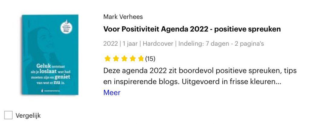 Reviews agenda 2022 bij Bol